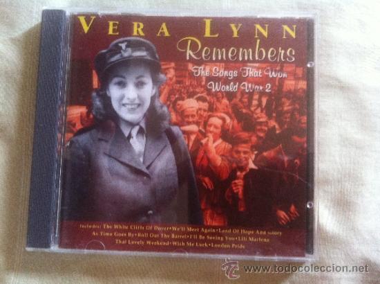 Cd vera lynn-remembers-the songs that won world - Sold