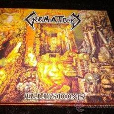 CDs de Música: CREMATORY - ILLUSIONS. Lote 38392703