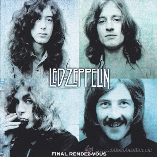 LED ZEPPELIN 2XCD DOBLE FINAL RENDEZ-VOUS CD LIVE MUY RARO COLECCIONISTA (Música - CD's Rock)