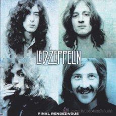 CDs de Música: LED ZEPPELIN 2XCD DOBLE FINAL RENDEZ-VOUS CD LIVE MUY RARO COLECCIONISTA. Lote 38393949