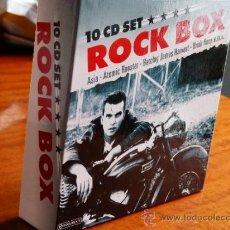 CDs de Música: ROCK BOX * 10 CD SET * CAJA CON 10 DE LAS MEJORES BANDAS DE ROCK * PRECINTADA!!. Lote 38415108