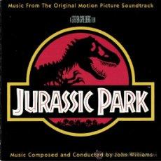 CDs de Música: B.S.O. ORIGINAL * PARQUE JURÁSICO * (EDICIÓN PROMOCIONAL). JOHN WILLIAMS. COMO NUEVA. RARA.. Lote 38415521