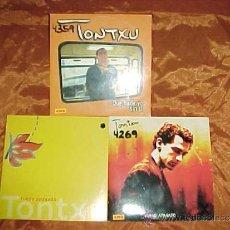 CDs de Música: TONTXU. 3 CD PROMOCIONALES. QUE HARIA YO SIN TI. FUEGO APAGADO. FUEGO APAGADO.. Lote 38419261