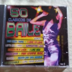 CDs de Música: CD 50CLASICOS DE BAILE VOL.3-VARIOS. Lote 38432730