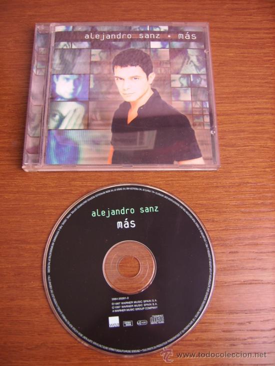 CD - ALEJANDRO SANZ - MAS - EDITION SPANISH (Música - CD's Latina)