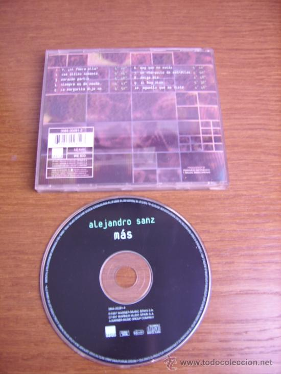 CDs de Música: CD - ALEJANDRO SANZ - MAS - EDITION SPANISH - Foto 2 - 38445310