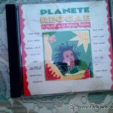 CDs de Música: CD PLANETE REGGAE: LO MEJOR DE LA MUSICA REGGAE. Lote 38454493