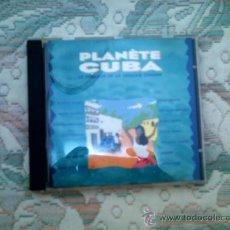 CDs de Música: CD PLANETE CUBA: LE MEILLEUR DE LA MUSIQUE CUBAINE. Lote 38454508