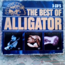 CDs de Música: CD THE BEST OF ALLIGATOR (TRIPLE CD). Lote 38455052