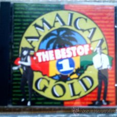 CDs de Música: CD THE BEST OF JAMAICAN GOLD 1. Lote 38455566