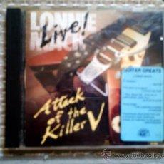 CDs de Música: CD LONNIE MACK: ATTACK OF THE KILLER V (LIVE). Lote 38455592