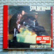 CDs de Música: CD STEVIE RAY VAUGHAN AND DOUBLE TROUBLE: COULDN´T STAND THE WEATHER. Lote 38456035