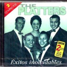 CDs de Música: ESTUCHE 2 CD THE PLATTERS -22 TEMAS. Lote 38473617