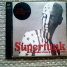 CDs de Música: CD SUPERFUNK: THE FUNKIEST ALBUM IN THE WORLD...EVER! (DOBLE CD). Lote 38487481