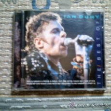 CDs de Música: CD THE BEST OF IAN DURY. Lote 38487749