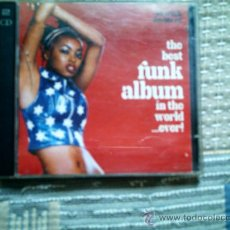 CDs de Música: CD THE BEST FUNK ALBUM IN THE WORLD...EVER! (DOBLE CD). Lote 38488959