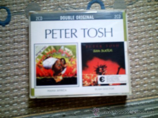 CD PETER TOSH: MAMA AFRICA Y BUSH DOCTOR (DOBLE CD) (Música - CD's Reggae)