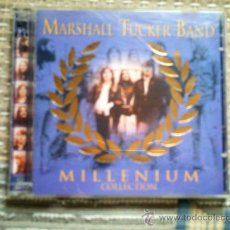 CDs de Música: CD MARSHALL TUCKER BAND: MILLENIUM COLLECTION (DOBLE CD). Lote 38490469
