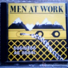 CDs de Música: CD MEN AT WORK: BUSINESS AS USUAL. Lote 38490745