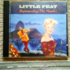 CDs de Música: CD LITTLE FEAT: REPRESENTING THE MAMBO. Lote 38520960