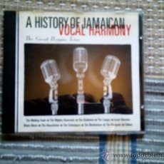 CDs de Música: CD A HISTORY OF JAMAICAN VOCAL HARMONY: THE GREAT REGGAE TRIOS. Lote 38521595