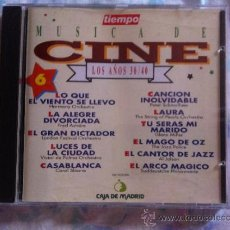 CDs de Música: CD TIEMPO-MUSICA DE CINE-LOS AÑOS 30-40-VOL.6-VARIOS. Lote 38571698