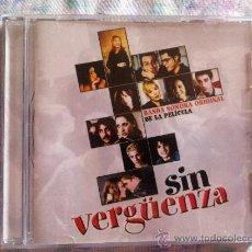 CDs de Música: CD SIN VERGUENZA-B.S.O.-VARIOS. Lote 38580024