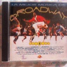 CDs de Música: CD LA MEJOR MUSICA DE BROADWAY-4-VARIOS. Lote 38580194