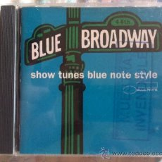 CDs de Música: CD BLUE BROADWAY-SHOW TUNES BLUE NOTE STYLE. Lote 38580301