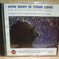 CDs de Música: HOW DEEP IS YOUR LOVE.THE WORLD OF THE BEE GEES.. Lote 38581019
