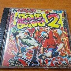 CDs de Música: SKATE BOARD 2 CD ALBUM MEGAMIX QUIQUE TEJADA DEL AÑO 1991 CONTIENE 16 TEMAS. Lote 38588318