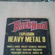 CDs de Música: EXPLOSION HEAVY METAL 9 DEL AÑO 2003. ( ROCK HARD). EDICION DE CARTON.. Lote 38595338