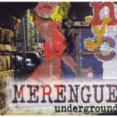 CDs de Música: MERENGUE UNDERGROUND CD ORIGINAL PRECINTADO. Lote 38621072