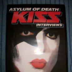 CDs de Música: DVD - KISS - ASYLUM OF DEATH - INTERVIEWS - 53 MIN. Lote 38656695
