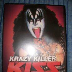 CDs de Música: DVD - KISS - KRAZY KILLER - 1994 DETROIT KISS KONVENTION + INTERVIEWS - 90 MIN. Lote 38656851