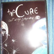 CDs de Música: DVD - THE CURE - LOST IN THE LABYRINTH - AN UNAUTHORISED BIOGRAPHY - ROBERT SMITH - GOTH ROCK. Lote 38656866