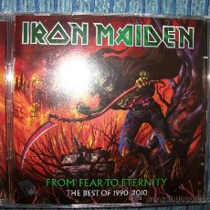 CDs de Música: CD - IRON MAIDEN - FROM FEAR TO ETERNITY - THE BEST OF 1990-2010 - HEAVY METAL - BRUCE DICKINSON. Lote 38657181