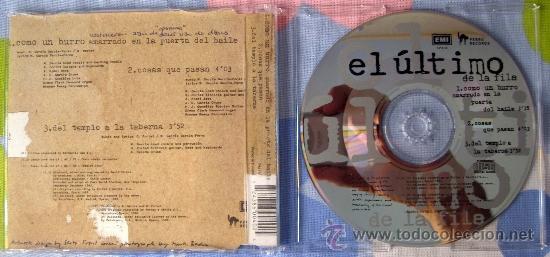 CDs de Música: EL ULTIMO DE LA FILA - CD SINGLE COMO UN BURRO AMARRADO.... EDICION EUROPEA, MEGARARO - Foto 2 - 38704889