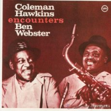 CDs de Música: COLEMAN HAWKINS ENCOUNTERS BEN WEBSTER-. Lote 38709005
