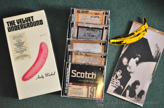 THE VELVET UNDERGROUND - 5 CD'S BOX + LIBRO (LIMITED EDITION) (Música - CD's Rock)