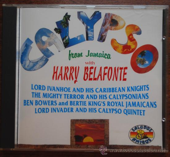 HARRY BELAFONTE.- CALYPSO FROM JAMAICA (Música - CD's Reggae)