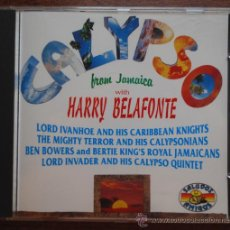 CDs de Música: HARRY BELAFONTE.- CALYPSO FROM JAMAICA. Lote 38735525
