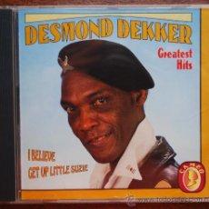 CDs de Música: DESMOND DEKKER.- GREATEST HITS (ISRAELITES). Lote 38735577