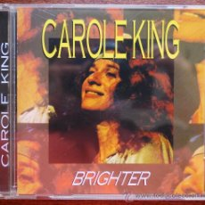 CDs de Música: CAROLE KING.- BRIGHTER. Lote 38735624