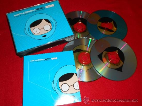 BENICASSIM 2001 4 CDS + LIBRETO 88 PÁGINAS INDIE MOGWAI SR.CHINARRO LOW PULP NACHO VEGAS SIDONIE ETC (Música - CD's Pop)