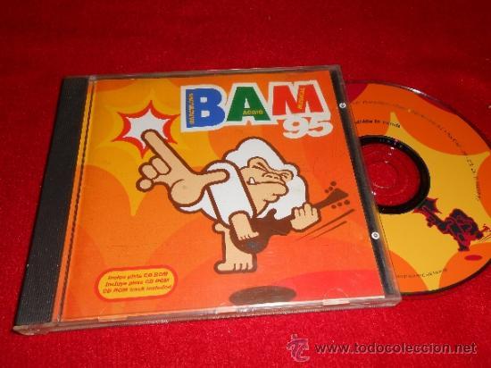 BAM 95 FESTIVAL CD 1995 PROMO BARCELONA INDIE NIÑO GUSANO BEEF REGALO SILVIA FLECHAZOS (Música - CD's Pop)