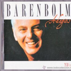 CDs de Música: BARENBOIM : ADAGIOS / DOBLE CD EN . Lote 38831410