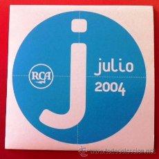 CDs de Música: PROMO RCA JULIO 2004 - LOS PLANETAS, DIEGO TORRES, ALICIA KEYS, VALDERRAMA, LAS CHUCHES.... Lote 38834826
