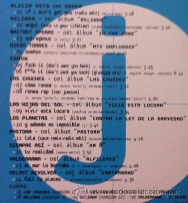CDs de Música: PROMO RCA JULIO 2004 - LOS PLANETAS, DIEGO TORRES, ALICIA KEYS, VALDERRAMA, LAS CHUCHES... - Foto 2 - 38834826