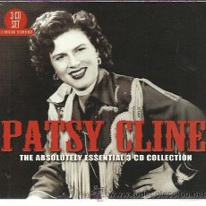 CDs de Música: PATSY CLINE - THE ABSOLUTELY ESSENTIAL COLLECTION - CD TRIPLE NOT NOW NUEVO. Lote 38839315